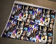 Celine Dion Photo Collage Gift Wrap Glossy Picture Poster 10 Feet Long NEW Rare