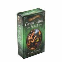 Green Witch Tarot Deck 78 Cards Divination Prophet Cards SCRATCH/DENT SALE!!!