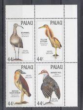 TIMBRE STAMP 4  ILE PALAU Y&T#206-09 OISEAU BIRD NEUF**/MNH-MINT 1988 ~B88