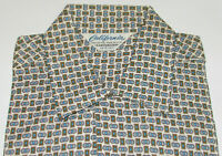 VTG 1960s UNUSED CALIFORNIA SHIRT! SANFORIZED/SHORT SLEEVE/LOOP COLLAR/POCKET S