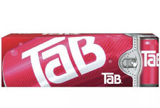 One 12-pack of Tab Cola soda pop 12oz cans - new, unopened, in-box IN HAND