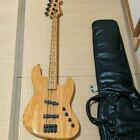 Moon Custom Guitars PGM Electric Bass Guitar with Soft Case Shipped from Japan for sale