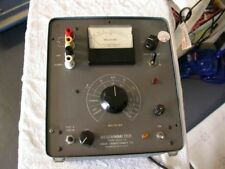 Freed Megohmmeter 1020 C Good Working Amp Calibrated