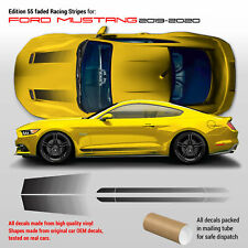 Edition 55 Faded Stripes for Ford Mustang 2019 - 2020