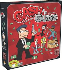 Cash N Guns Board Game (2nd Edition) New