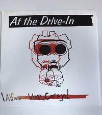 "AT THE DRIVE IN Alfaro Vive Carajo 2000 Vinyl 7"" Offtime Records Mint"