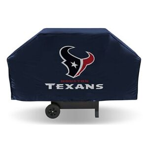 """HOUSTON TEXANS ECONOMY GRILL COVER DURABLE VINYL 68"""" BBQ COVER"""