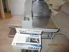 GRAEF - 188 MASTER - ALLESSCHNEIDER - Klinge neuwertig + Diamant Messer Schärfer
