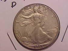 1945 D LIBERTY WALKING HALF DOLLAR - XF+ - SEE PICS! - (N2406)