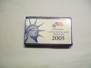 2005 U S MINT PROOF COIN SET