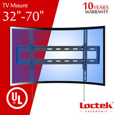 Curved Panel TV Wall Mount Bracket LCD ULED OLED 32 37 40 42 48 50 55 60 65 70