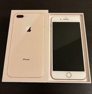 iPhone 8 Plus 64GB Rose Gold (Unlocked)