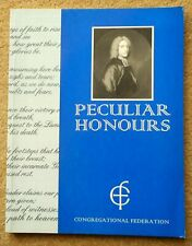 Peculiar Honours - Congregational Federation - 101 Hymns in 126 Pages 1998 Clean