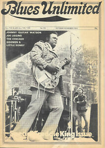 BLUES UNLIMITED : No.110 : October-November 1974 :  Freddy King & Johnny 'Guitar
