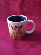 2012 EUC Starbucks London Mini Expresso Cup Mug City Series Demitasse 3 Oz