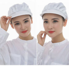 Women Elastic Chef Hat Restaurants Breathable Kitchen Hat Dustproof Cooking Cap