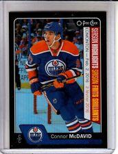 2016-17 O-Pee-Chee Rainbow Black #601 Connor McDavid /100 Edmonton Oilers