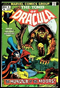 TOMB OF DRACULA #6   SIGNED by GENE COLAN!   NEAL ADAMS Cover!   F/VF (7.0)