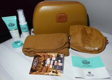 BRICS Qatar Airways Business Class Amenity Kit with  Monte Vibiano Products NEW