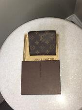 Louis Vuitton Brown Elise NM2 Monogram Logo Wallet - NWT