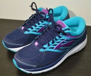 Brooks Addiction 13 (1202531B456) Running Shoes - Women's Size 7.5 B - Blue/Teal