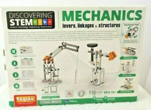 Engino Discovering Stem Mechanics Levers Linkages & Structures Building Kit Toy