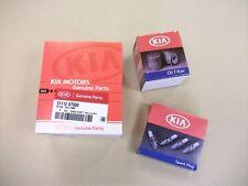 Genuine Kia Picanto 2015- 1.2 Petrol 40k 80k Service Kit Oil Fuel Filter Plugs