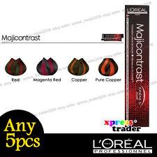 Any 5pcs L'Oreal Majicontrast Permanent Colour Hair Dye 50g