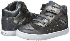 Geox Scarpe bimba Sneakers con Strappi e Lacci Elastici Linea Kiwi B74d5a Dark Grey 22