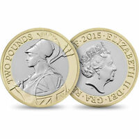 UNCIRCULATED/CIRCULATED UK COMMEMORATIVE £2 COINS MOSTLY MINT SHINING CONDITION