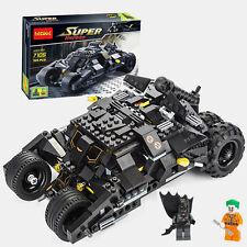 Superhero Movie 325pcs Batman Chariot Clown Batmobile #7105Building ToysFit lego