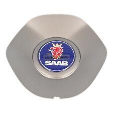 SAAB 93 9-3 9440 08-12MY TURBO X GREY ALLOY WHEEL CENTRE CAP BADGE RARE 12780378