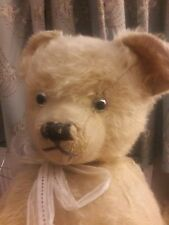 "Antique large 26 ""Traditional mohair jointed teddy bear approx 1940s ~ Victor"