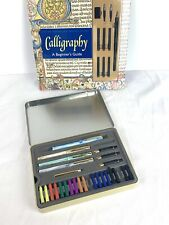 Staedtler Calligraphy Pen Set and Calligraphy Beginners Guide Book