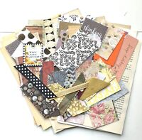 Junk Journal Supplies, 100+ Items, Scrapbook Papers, Quotes, Vintage Book Pages