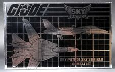 2016 GI Joe Con Convention Sky Patrol Sky Striker Combat Jet MISB Sealed