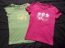 LOT 2 ROCK TEE SHIRTS MUSE - TAILLE S SMALL SIZE - FEMME WOMAN – NEUFS NEW !