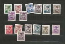 Montenegro, Postage Stamp, #2N24//32, 2N42a//32a Mint NH, 1942 Italian