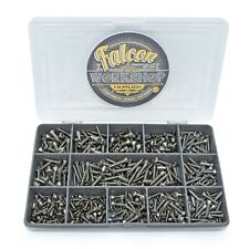 300 ASSORTED POZI RAISED CSK (DIN 7983) A2 STAINLESS STEEL SELF TAPPING SCREWS