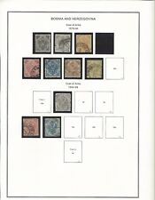 Bosnia and Herzogovina on Stock pages.  Includes Mint HR 17, 19, 20  CV = $500+