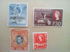 lot N°19 - 4 timbres TANGANIKA
