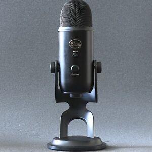 Blue Microphones Yeti USB Mikro Streaming Blackout