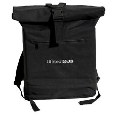 United DJs Roll Top Battle Backpack - Record & Laptop Bag