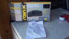RAIN-X WATER RESISTANT CAR TOP CARGO BAG IN ORIGINAL BOX WITH PAPERWORK