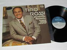 TINO ROSSI Self-Titled (Si tu va a Rio) LP 1975 Music For Pleasure 2M046-13262