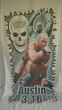 Vintage 1999 Titan Sports Stone Cold Steve Austin Beach Towel WWF