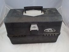 Vintage Old Pal Bass Model PF-4000 Fishing Tackle Box Fold Out Trays Made in USA