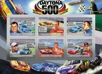 Guinea - Daytona 500 - 6 Stamp  Sheet  - 7B-906