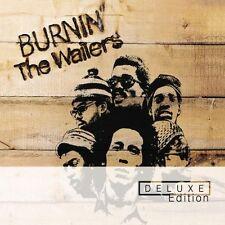 """BOB MARLEY """"BURNIN"""" 2 CD DELUXE EDITION NEUWARE"""