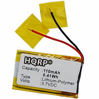 110mAh Battery for Sony Sbh-20 SBH20B Stereo Headset, 1270-7822